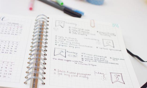 Bullet Journal – método de gestão para produtividade